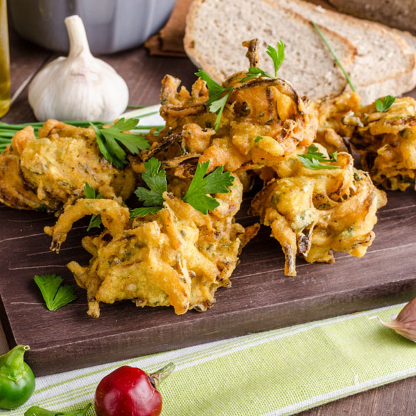 Brussels Sprouts Bhajis