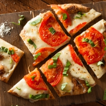 Vegetable Flatbread Pizza