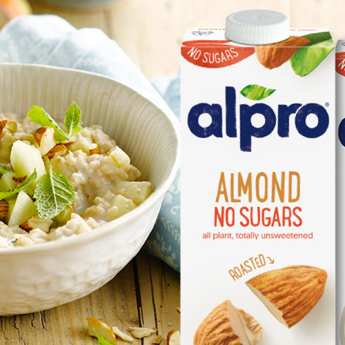 Alpro Almond Porridge